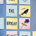 [chronique] all the bright places (tous nos jours parfaits) de jennifer niven