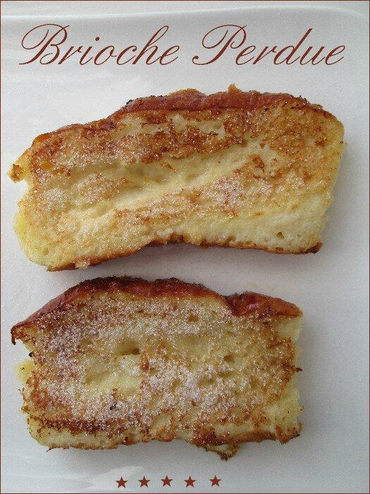 brioche façon pain perdu 1