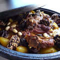 Tajine d'agneau au fruits secs