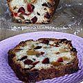 Cake aux fruits confits de pierre hermé