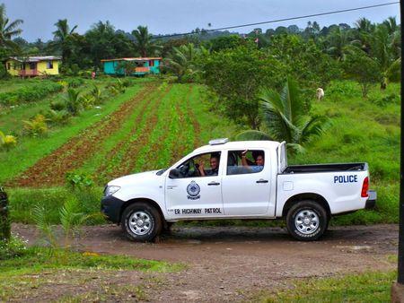 Fiji Police Vehicle3