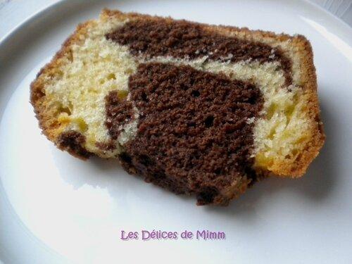 Marbré au chocolat pour le Blue Monday