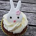 Un goûter chez les sylvanian families – les cupcakes lapin à la carotte