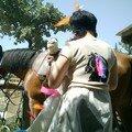 Jupe et teeshirt spécial indien
