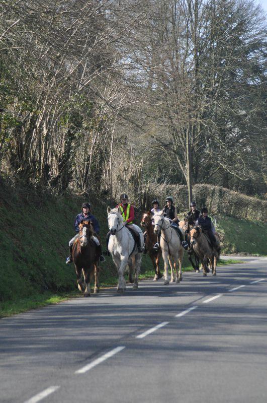 La Balade du Jambon - Balade à cheval dans le mortainais (25)