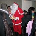 Le Père Noël à Teurthéville-Hague