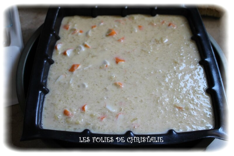 Clafoutis courgettes 7