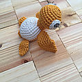 Duo de tortues au crochet