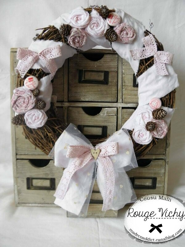 Grde couronne shabby