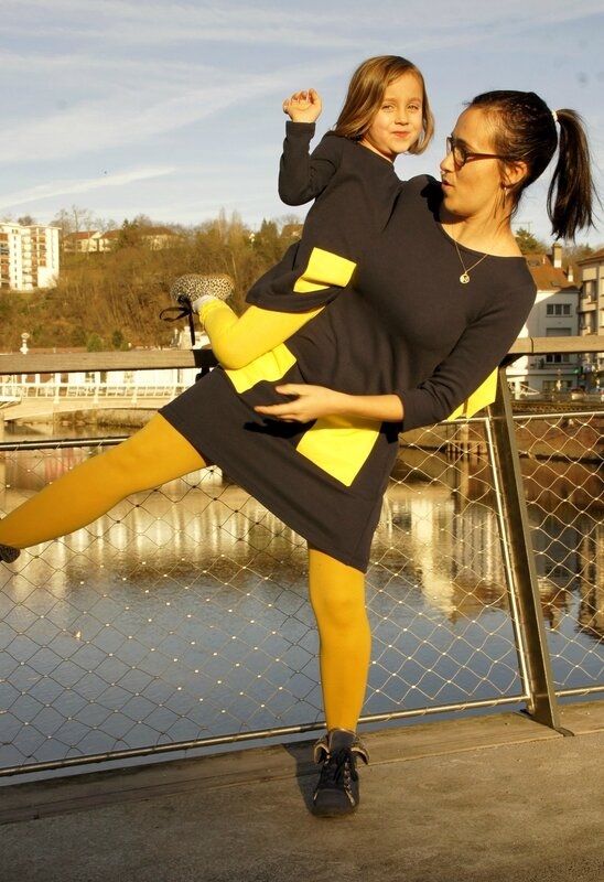 duo robe jaune 2