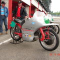 L'ex 250 NSU à Mike Hailwood