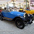 Bugatti type 30 torpedo de 1925 (Cité de l'Automobile Collection Schlumpf à Mulhouse) 01