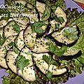 aubergines ail sesame