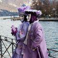 Xvème carnaval vénitien d'annecy photos albert frezard