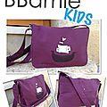Bbamie kids, modèle samy violet