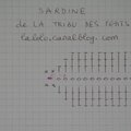 tutoriel sardine poisson au crochet