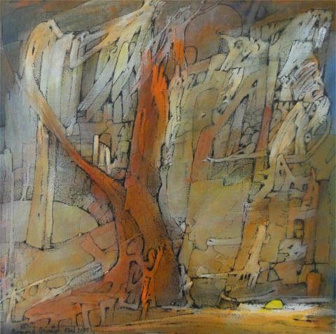 ORANGE Bernard - Arbres au coeur de la forêt
