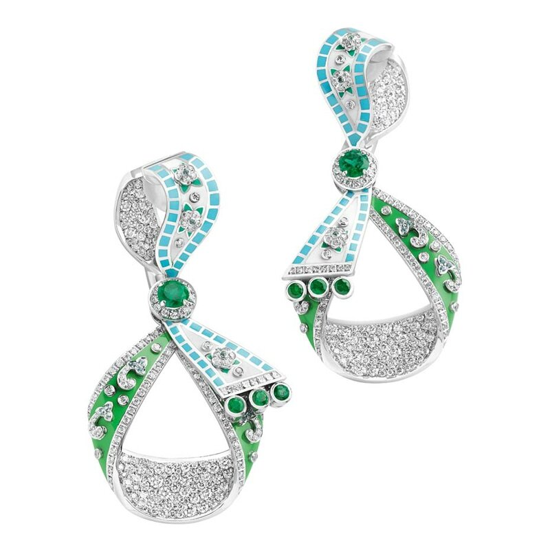 Best jewellery_Basel 2015_Faberge summer in provence earrings