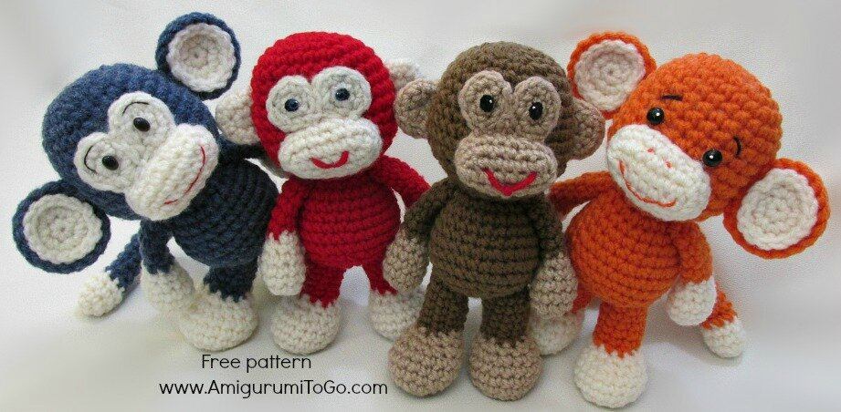 tuto amigurumi singe tout sur le crochet et les amigurumis. Black Bedroom Furniture Sets. Home Design Ideas