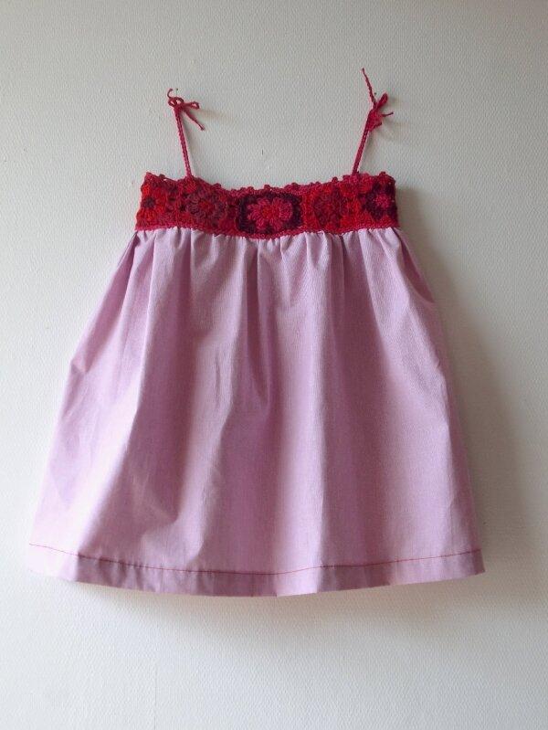 robe granny rouge