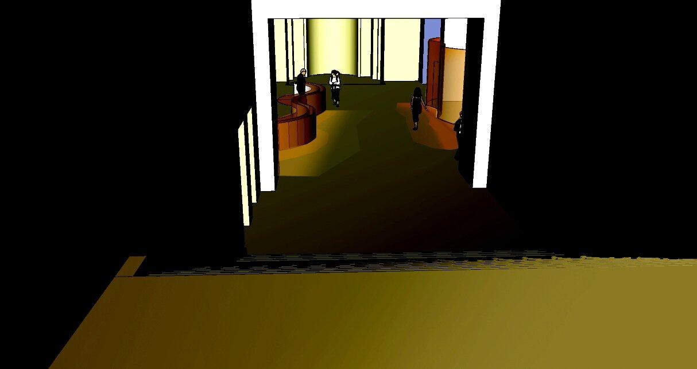 Théâtre de Chaillot projet 3 - SketchUp Photopshop