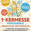 Kermesse paroissiale le 17 juin 2018 !!