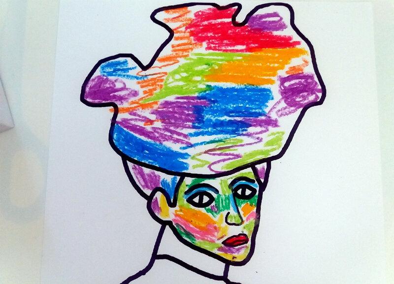37-Transformer-La dame au chapeau (7)