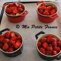 Crumble fraise-rhubarbe