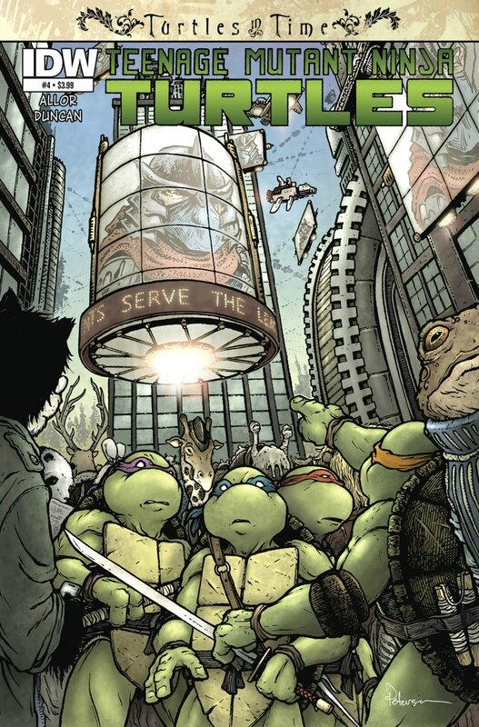 IDW TMNT turtles in time 04