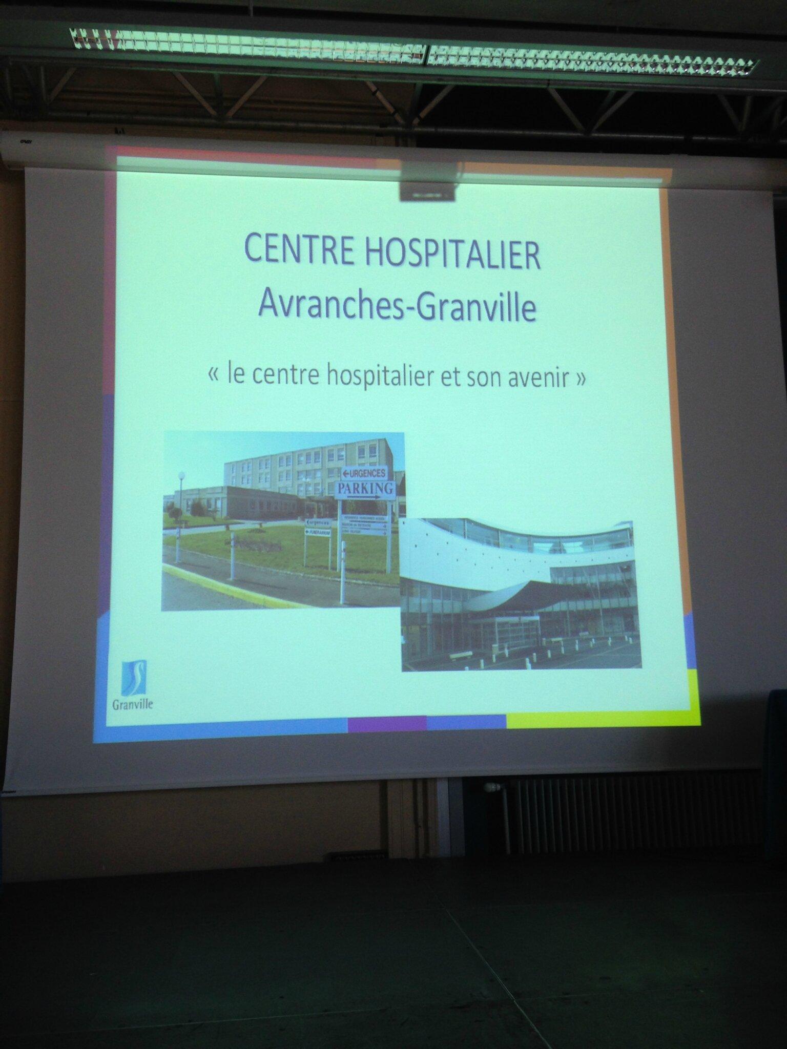 réunion publique devenir hôpital Granville Avranches 11 mai 2015