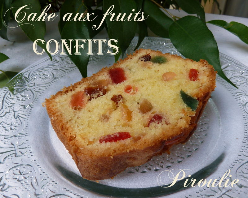 Cake Aux Fruits Confits De Sophie Dudemaine Et Photos Et Video Pour
