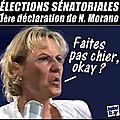 Défaite de la droite aux sénatoriales : 1ère déclaration de nadine morano
