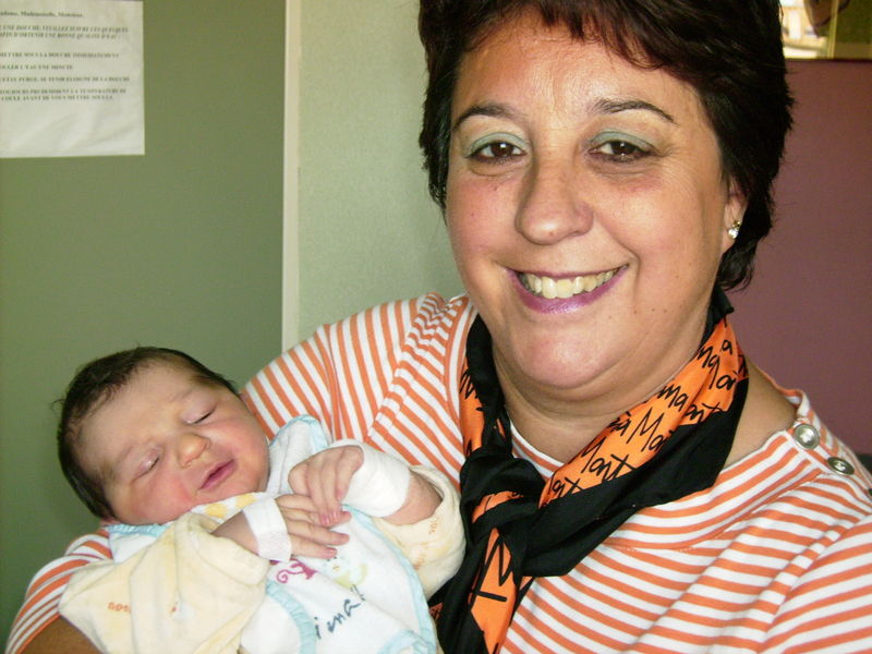 Emma à la naissance