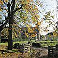 Liessies - le parc de l'ancienne abbaye