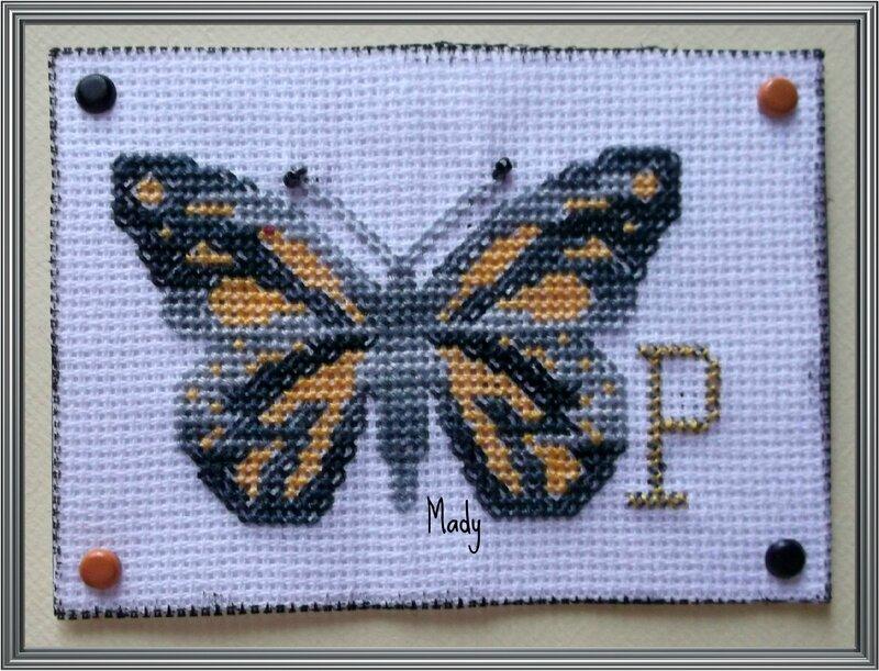 ATC P comme Papillon