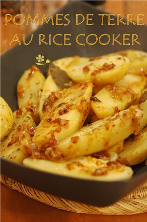 Pommes de terre au rice cooker_2