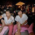 Massage au marché du dimanche
