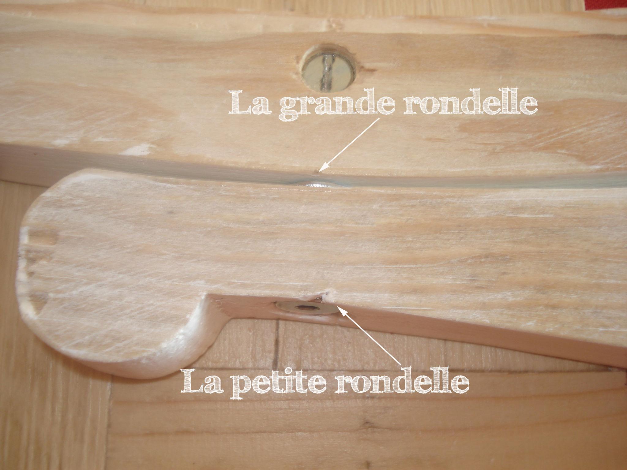 miroir coiffeuse en bois de palette
