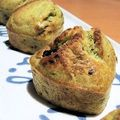 Muffin pesto tomates