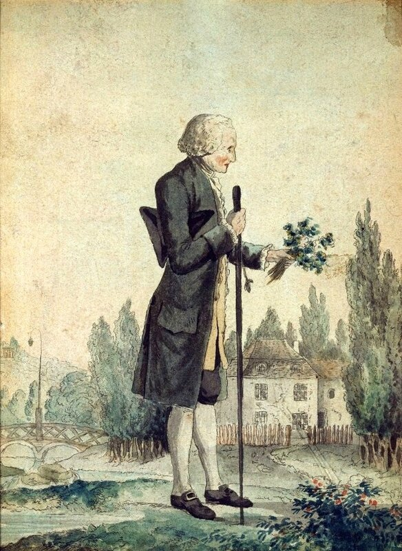 Rousseau à Ermenonville