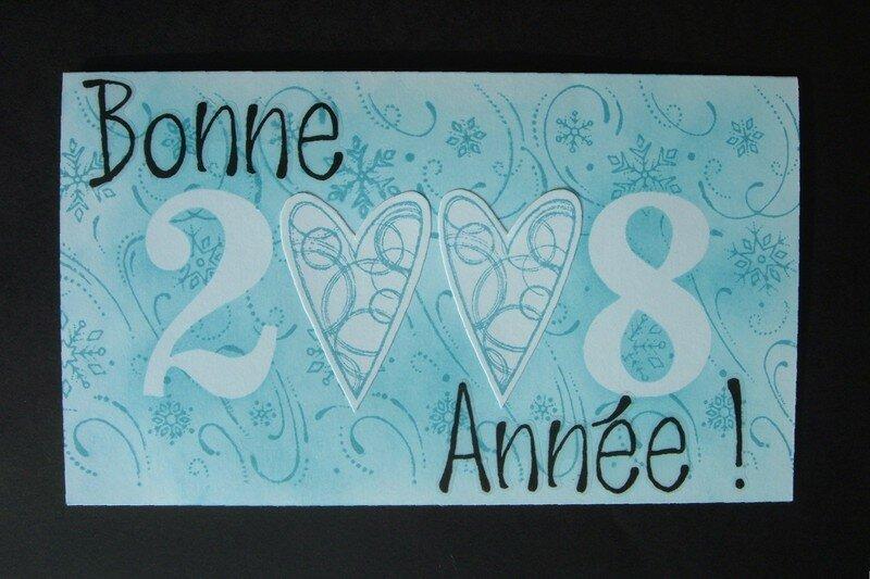 Carte Bonne Année 2008