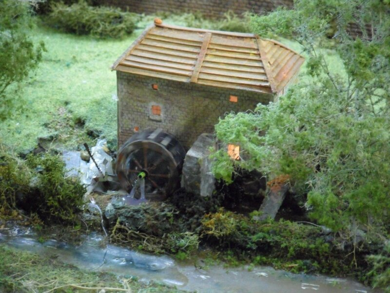 Mondial 2010 : Diorama des Gorges de la Loire