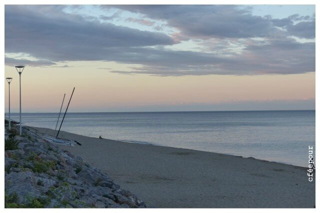 nuit plage de Leucate