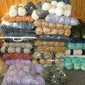 Mon tas de laines