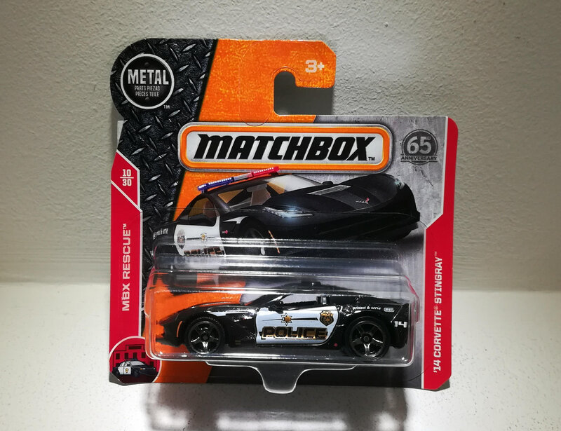 Chevrolet Corvette Stingray de 2014 (Matchbox)