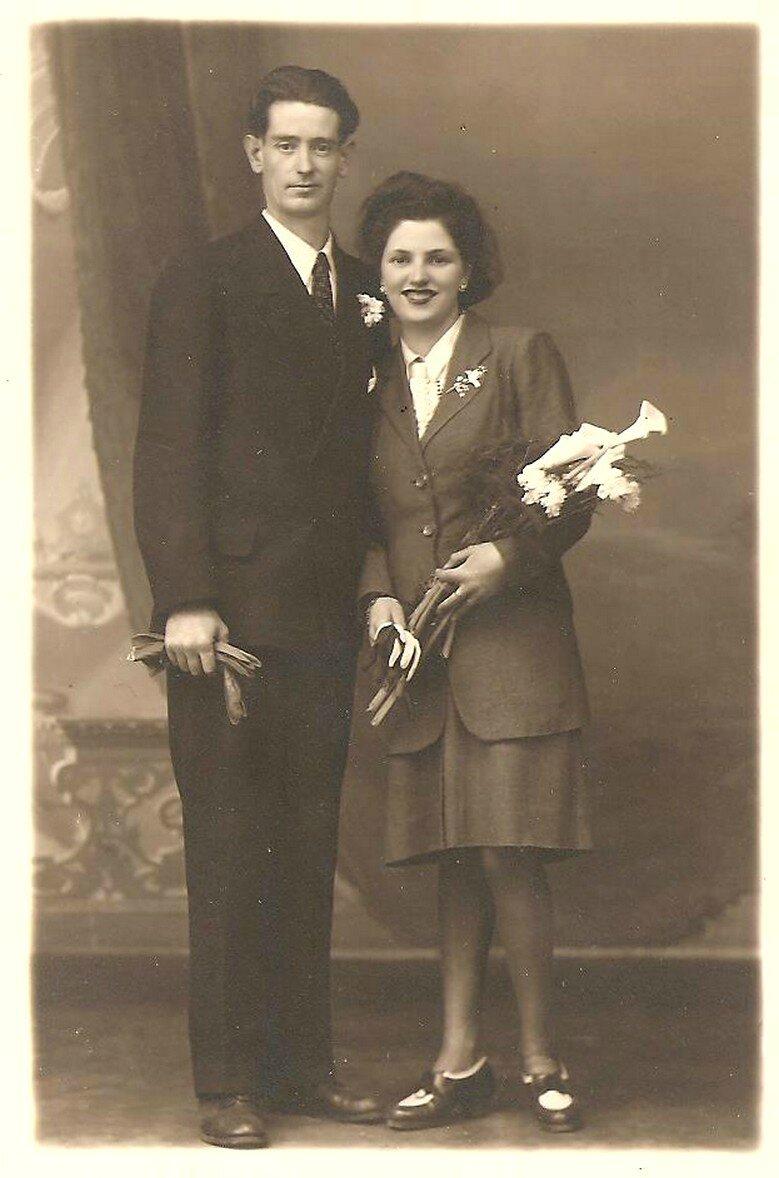 Mariage Alexandre et Marie-rose Legouez