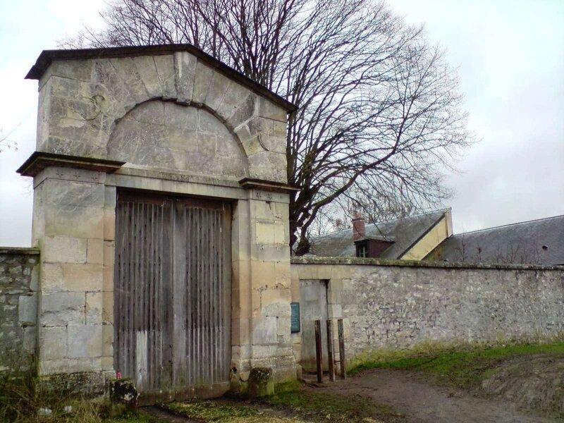 Porte de Bailly 2_côté extérieur