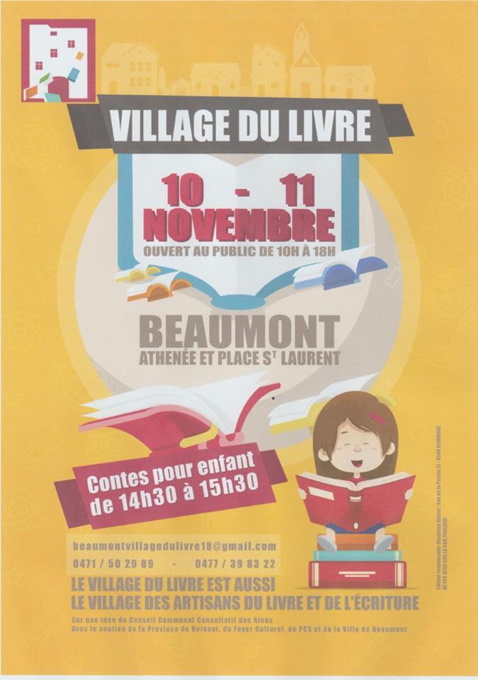 En dédicace à Beaumont le dimanche 11 novembre 2018!
