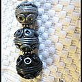 Sautoir black métal - détail 02