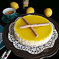 Cheesecake coco et citron